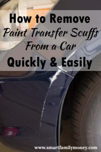 Wow! This really worked! I got the paint scuffs off my car and it looks GREAT now!