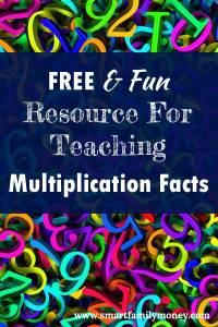 FREE & Fun Resource for teaching Multiplication Facts