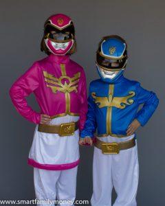My adorable Power Rangers!