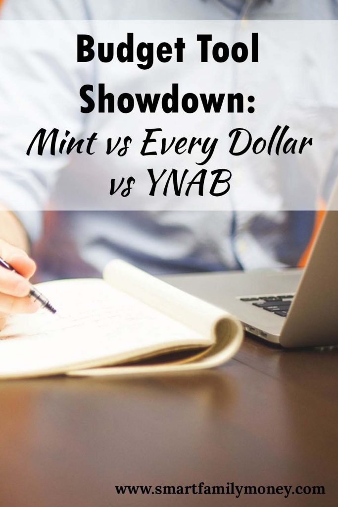 Budget Tool Showdown: Mint vs Every Dollar vs YNAB