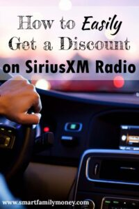 This really works! I saved a ton of money on a SiriusXM subscription!