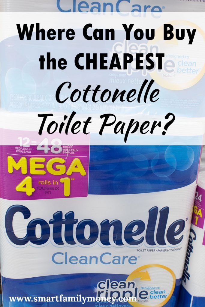 Where Can You Buy the Cheapest Cottonelle Toilet Paper? - Smart ...