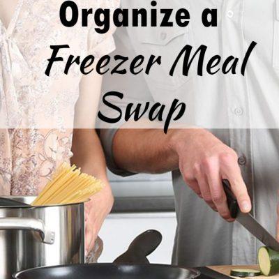 How to Organize a Freezer Meal Swap