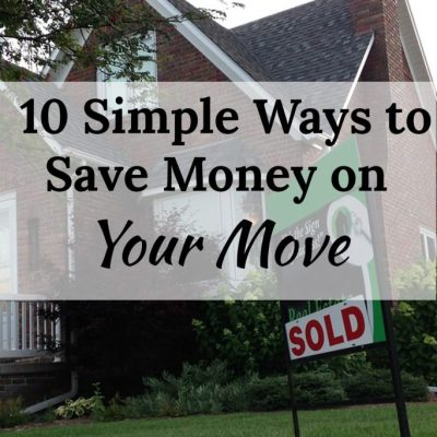 10 Easy Ways to Save Money on Your Move