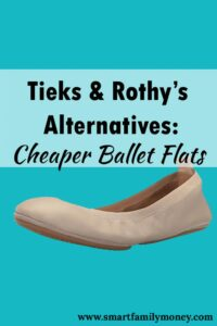 Tieks Rothy's Alternatives Cheaper Ballet Flats