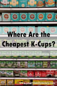Cheapest K-Cup