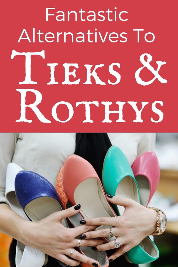Alternatives Tieks and Rothys