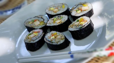 Millet sushi