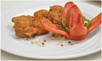 Millet & sorghum mixed <i>bhajia</i>