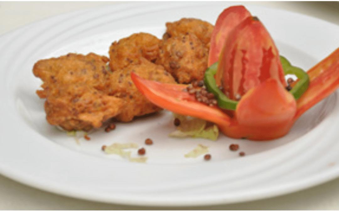 Millet & sorghum mixed bhajia