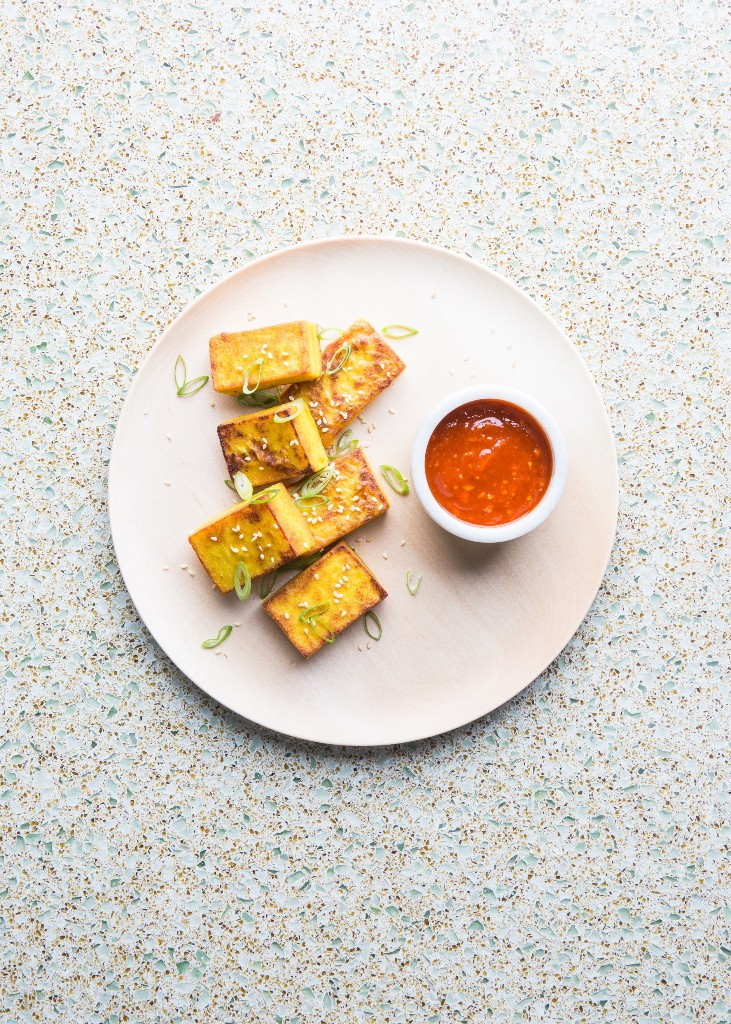 "This ""Tofu"" Recipe Convinced Us That Chickpea Flour Is a Miracle Food"