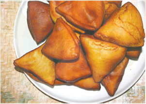 Pearl Millet Mandazi