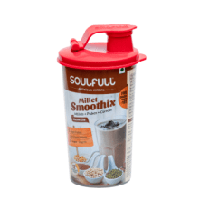 Soulfull's Millet Smoothix shaker. Sachets start at Rs 60