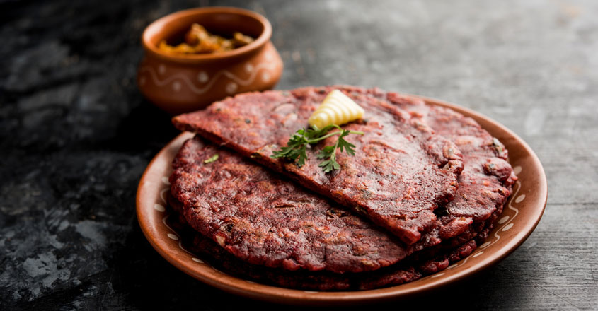 Try this ragi spinach dosa for a healthy heart…