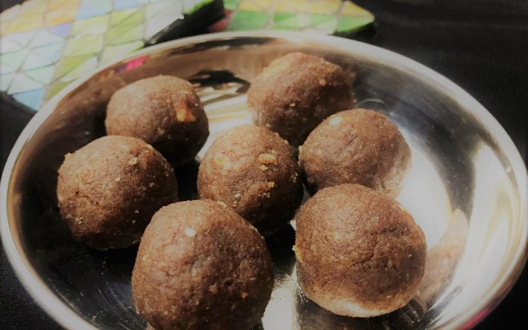 Sugar-less Finger Millet Laddu