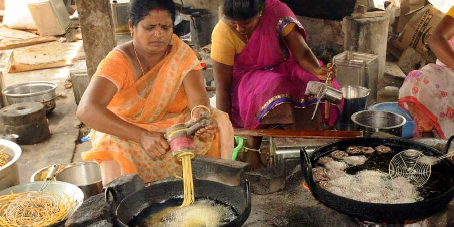 Delicacies made from organic millets a big hit in Pudukkottai this Diwali