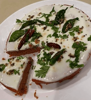 Red Velvet Dhokla with Foxtail Millet