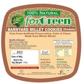 Barnyard Millet Cookies by Joule Foods