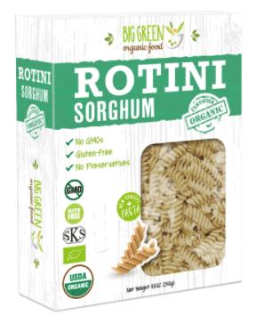 Organic Rotini Sorghum by BGreen Foods