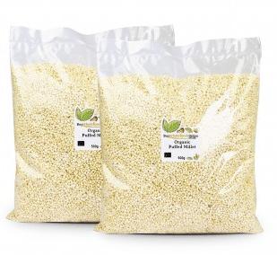 Organic Puffed Millet by buywholefoodsonline.co.uk