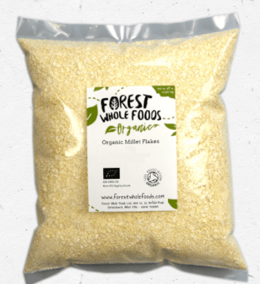 Organic Millet Flakes by Forest Wholefoods