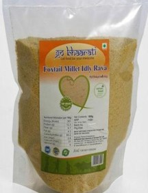 Foxtail Millet Idly Rava by Go Bhaarati