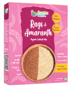 Ragi and Amaranth Instant Mix by Fructus Terra