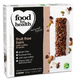 Fruit Free Bar with Coffee and Cacao by Food for Health