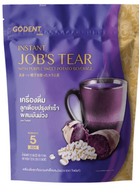 Instant Jobs Tear with Purple Sweet Potato by Godent