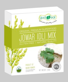 Jowar Idli Mix by Gud2Eat, Samruddhi Agro