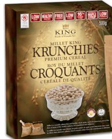 Krunchies Premium Cereal by Millet King