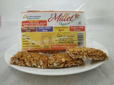 Foxtail Millet Chikki by Moon Foods