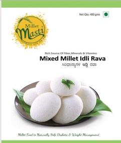 Millet Idli Rava by Millet Masti, Purnashraddha