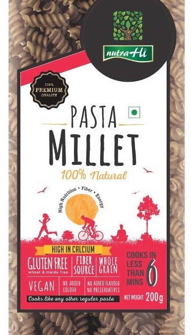 Millet Pasta by NutraHelix
