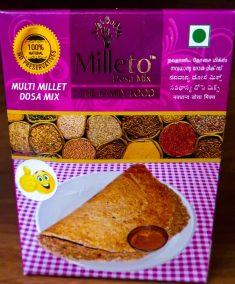 Multi Millet Dosa Mix by Milleto, Adhisurya Foods
