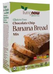 Chunky Chocochip Banana Bread Mix by Now Foods