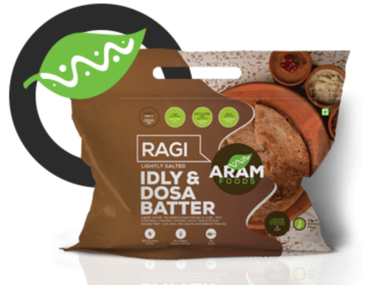 Finger Millet Idly and Dosa Batter by Aram Foods