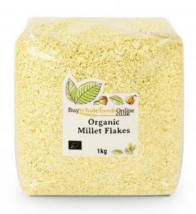 Organic Millet Flakes by buywholefoodsonline.co.uk