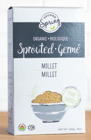 Organic Sprouted Millet by Second Spring