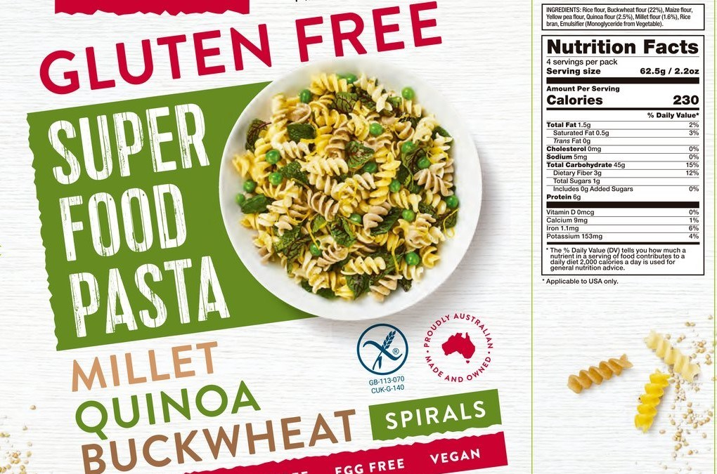 Super Food Pasta Spirals by Orgran Foods