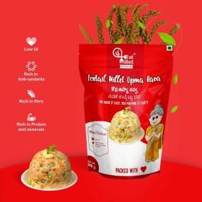 Foxtail Millet Upma Rava by Eat Millet, Coastal Foods