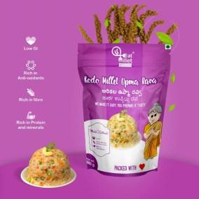 Kodo Millet Idly Upma by Eat Millet, Coastal Foods