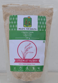 Little Millet Idly Rava by Millets for Health