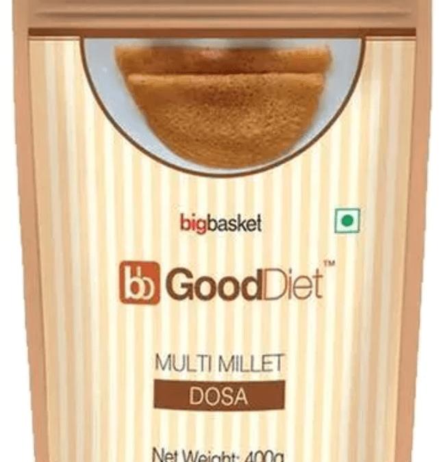 Multi Millet Dosa by Good Diet, BigBasket