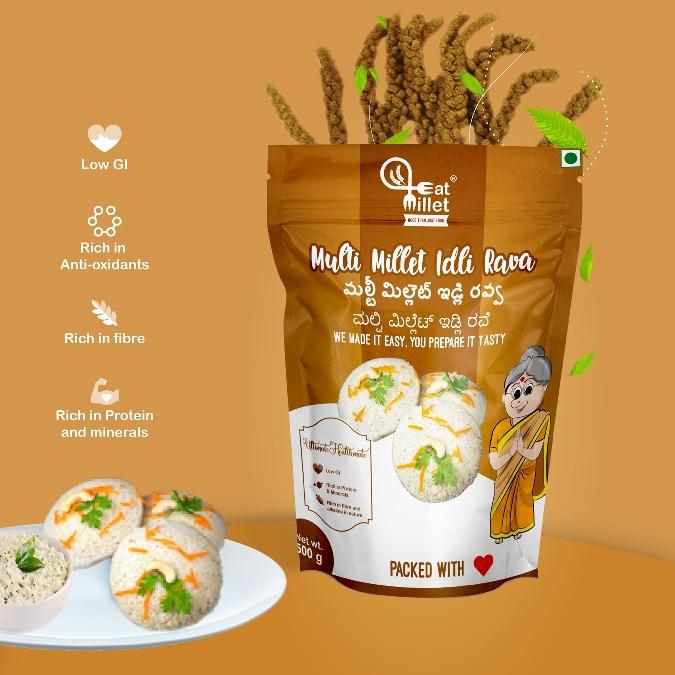 Multi Millet Idly Rava by Eat Millets, Coastal Foods