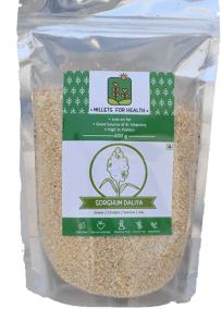 Sorghum Dalia (Semolina) by Millets for Health