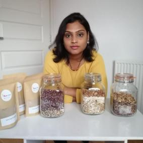 Mum's homemade porridge mix business thrives during pandemic