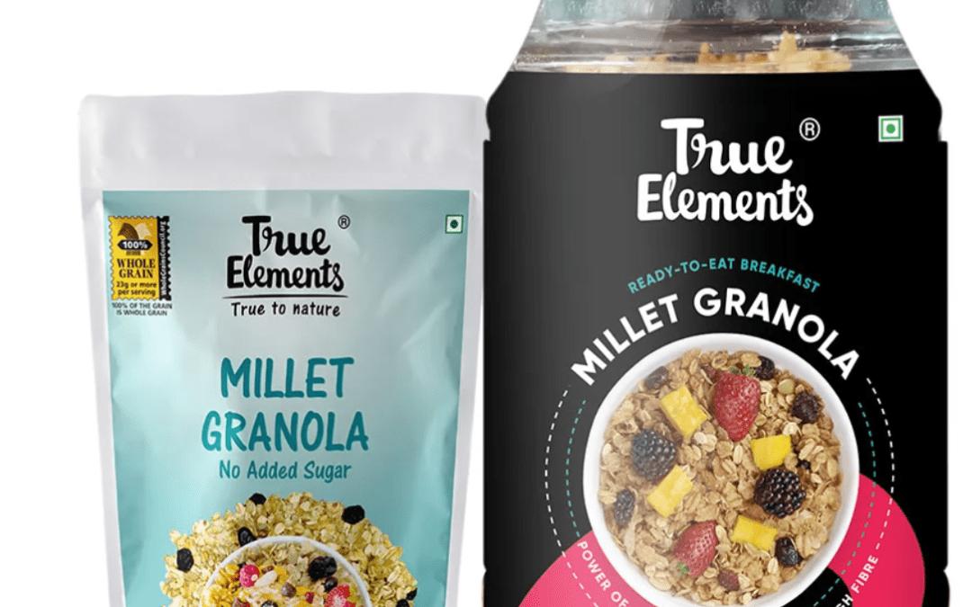 Millet Granola by True Elements
