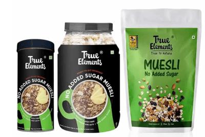 Muesli no added sugar by True Elements