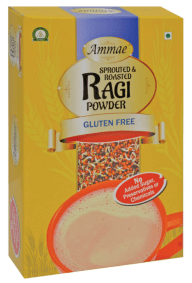 Sprouted and Roasted Ragi Powder by Ammae